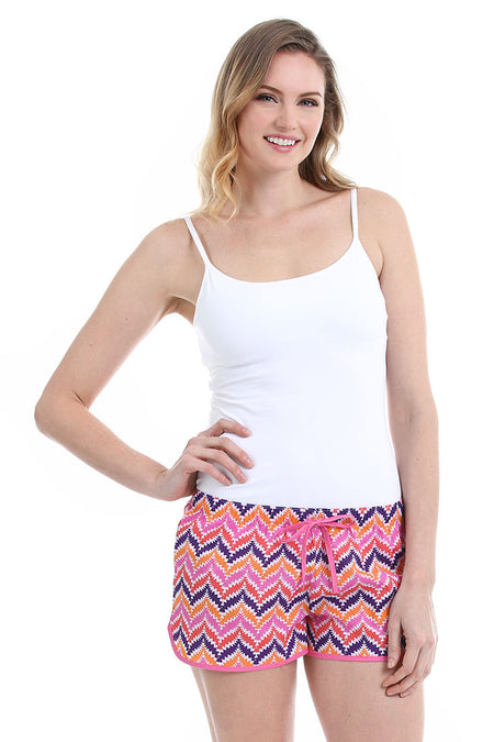 Chevron Black Women's Boxers