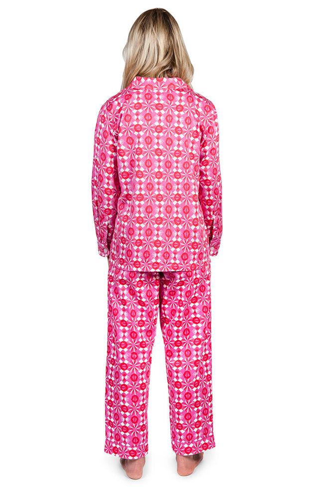 Starburst Women's Sateen Pajama Set