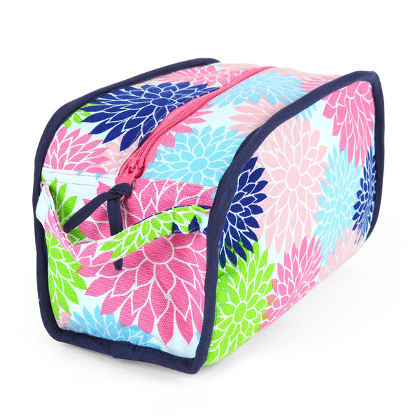 Floral Pop Multi Color Dopp Kit