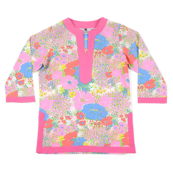Flora Multi Color Girl's Cover Up