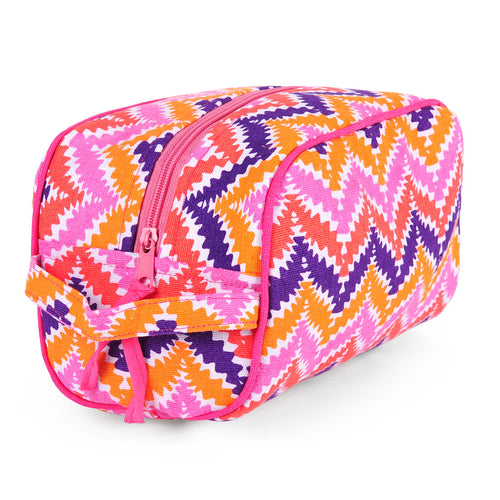 Zig Zag Pink Travel Kit