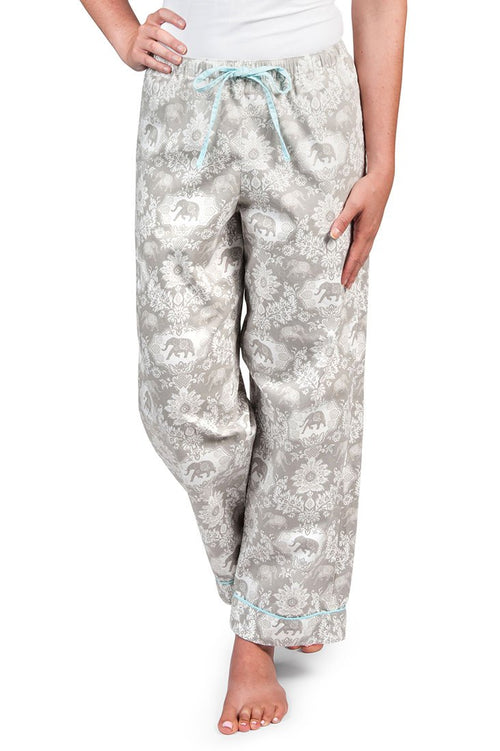 Jaipur Gray Women's Pajama Pants