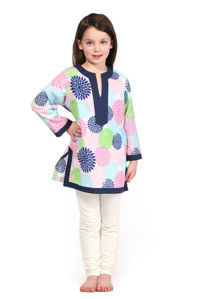 Floral Pop Multi Color Girl's Cover Up