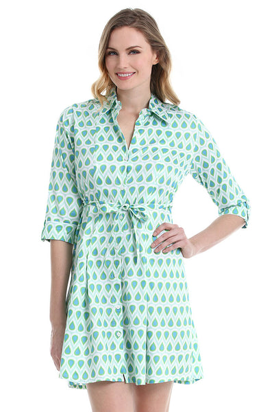 Teardrop Naples Shirt Dress