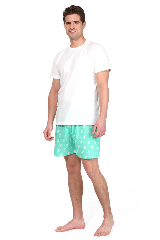 Palm Trees Green Men's Boxers