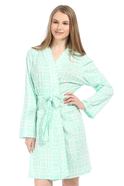 Isabelle breeze Jersey Knit Robe
