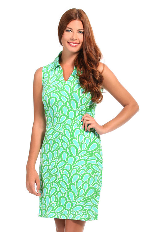 Annabelle Aqua Sports Dress