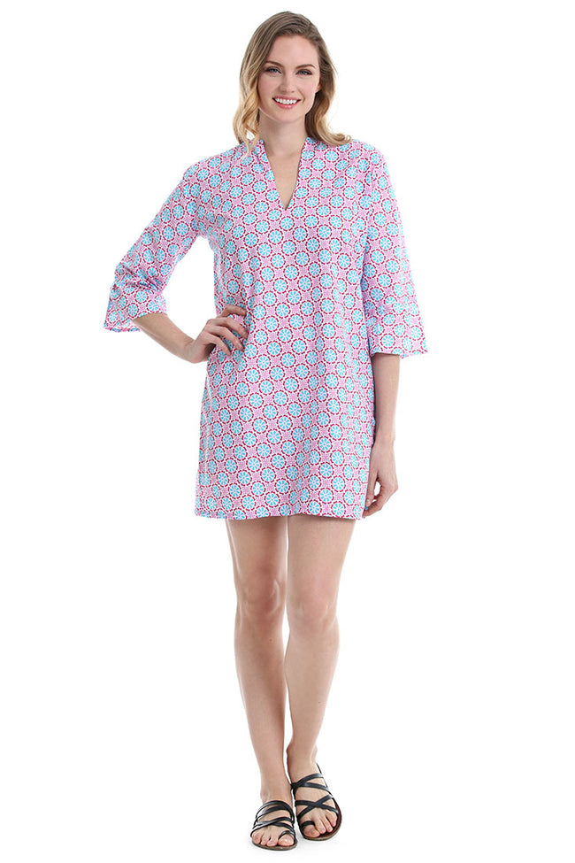 Lulu Pink Kaftan Cover Up