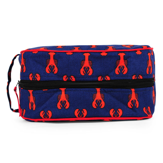 Lobster Navy Travel Kit