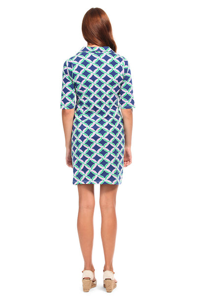 Savannah Navy Hamilton Dress