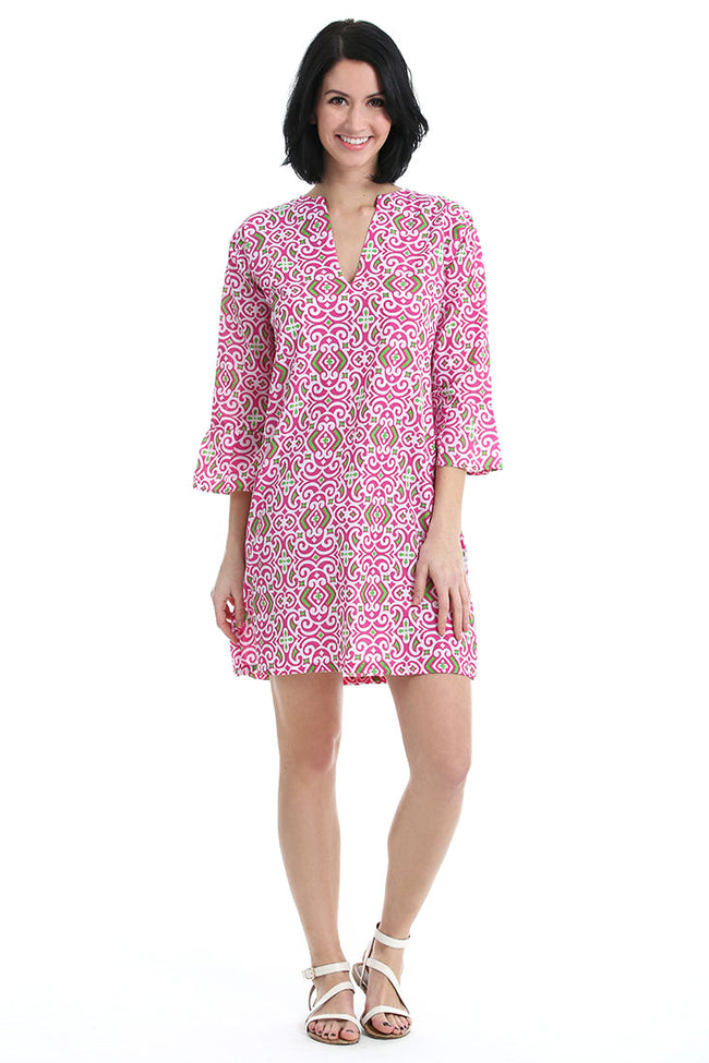 Collins Pink Kaftan Cover Up