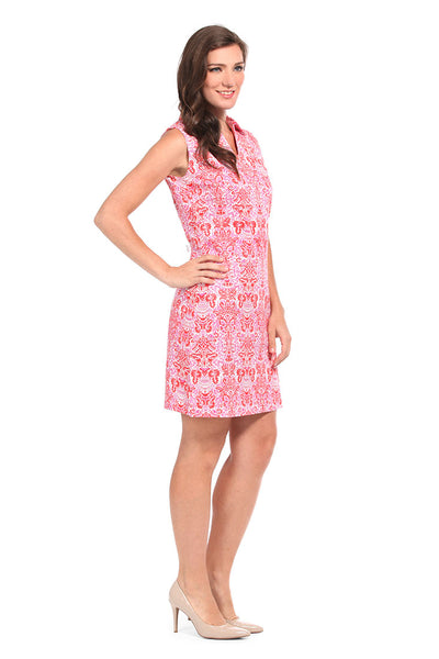 West Indies Red Captiva Dress
