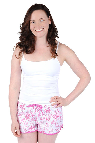 Monkey Cotton Poplin Women's Boxers