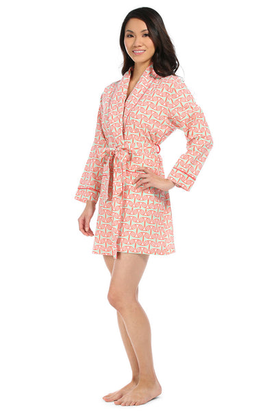 Alice Coral Pink Robe