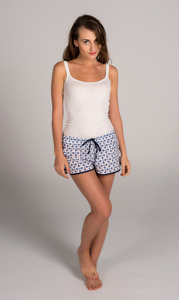 Bits And Bridle Navy Women's Boxers