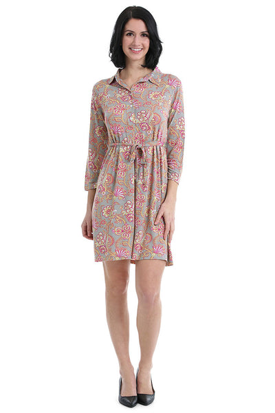 Paisley London Shirt Dress