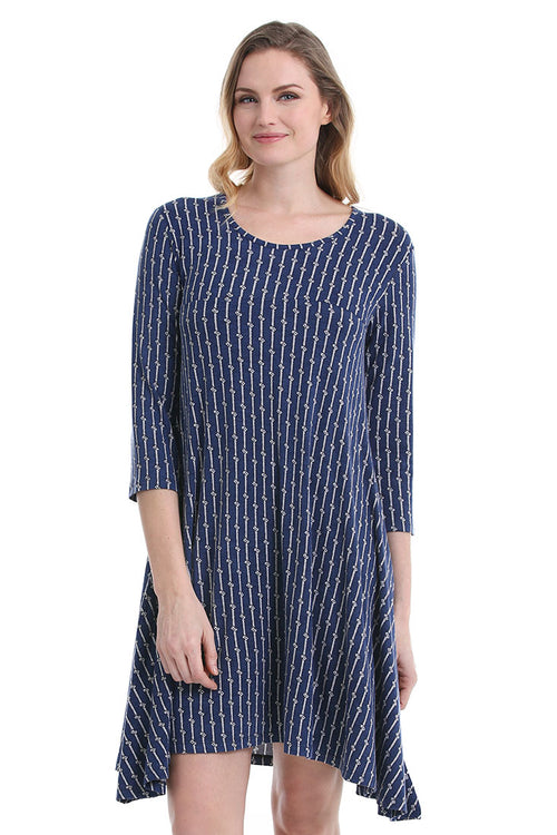 Nautical Rope Amalfi Dress