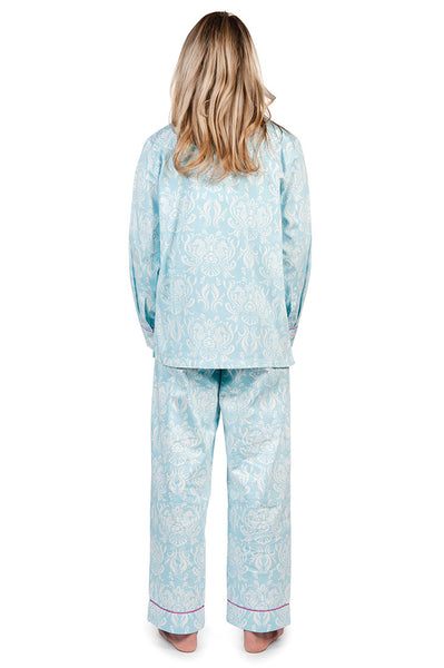 Sea Crest Women's Sateen Pajama Set