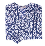 Ikat Navy Tunic