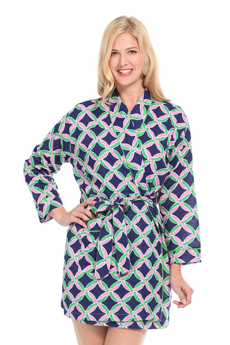 Tribal Arrows Purple Robe