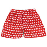 Elephants Red Men's Boxers