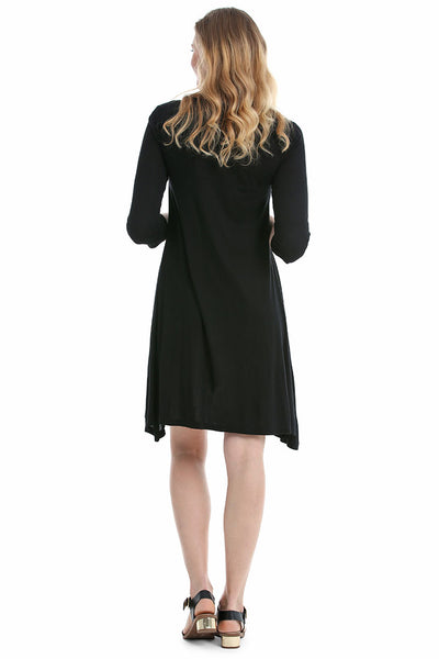 Black Amalfi Dress