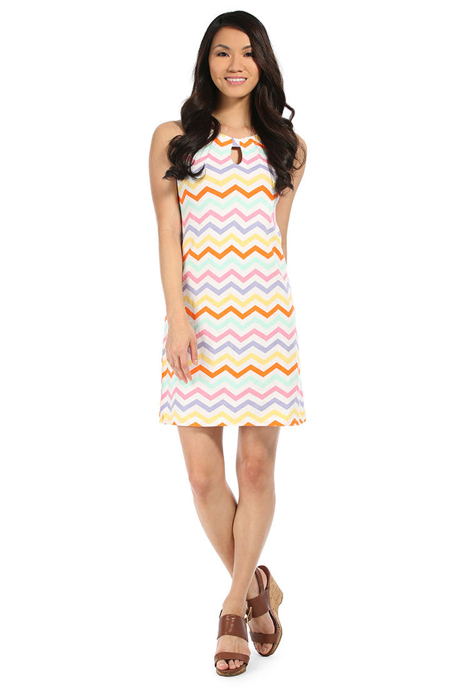 Capri Chevron Anywhere Dress