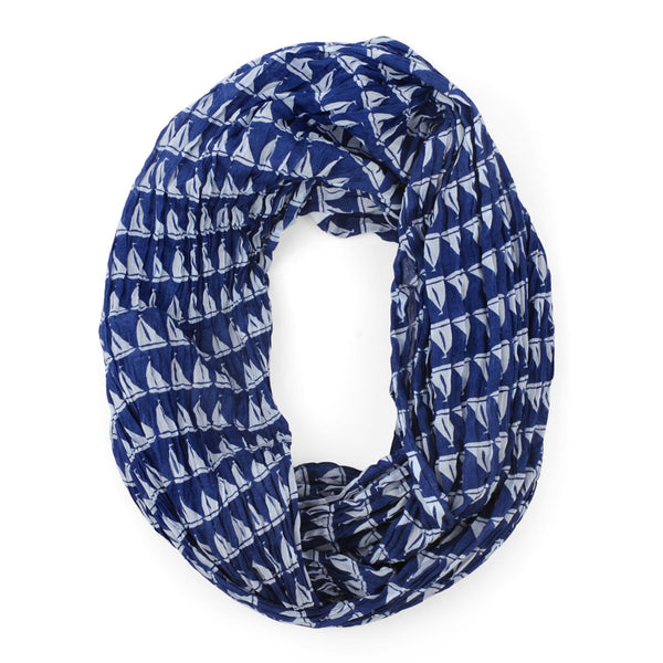 Annapolis Navy Infinity Scarf