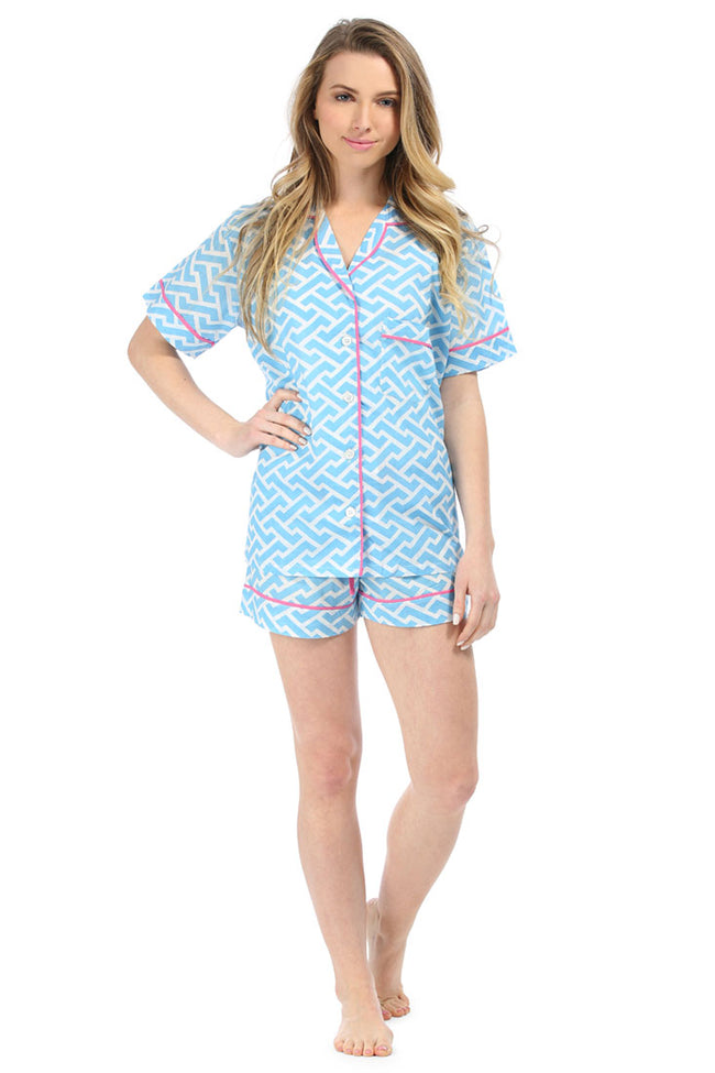 Molly Blue Summer Pajama Set