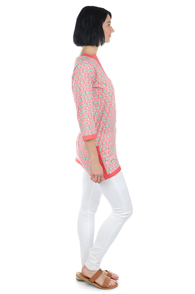 Alice Coral Pink Tunic