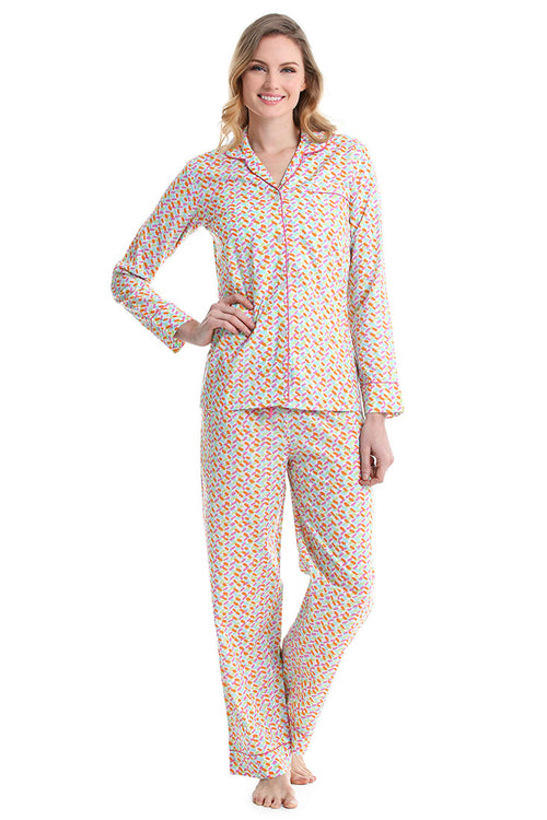 Confetti Multi Color Pajama Set
