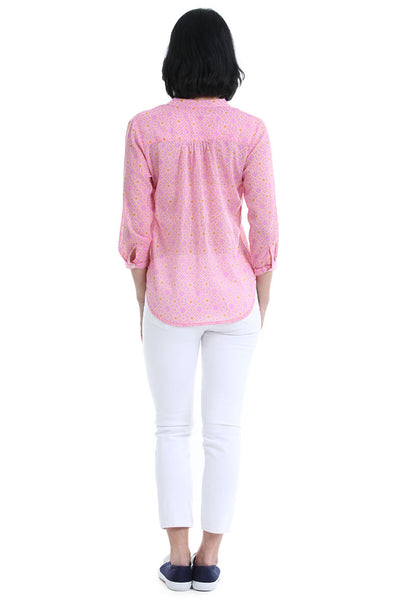 Geneva Pink Breeze Shirt