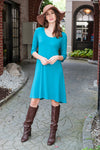 Teal Amalfi Dress