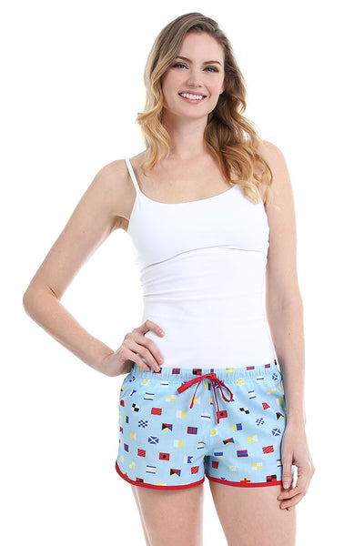 Nautical Flags Women's Boxer