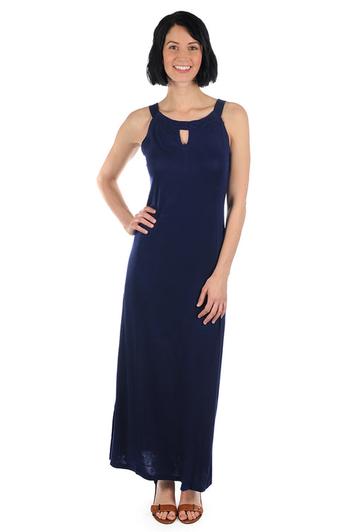 Navy Pawleys Dress