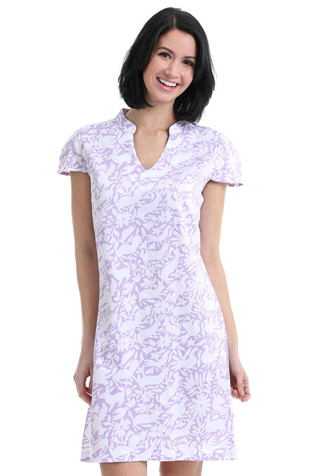 Teardrop Purple Sports Dress