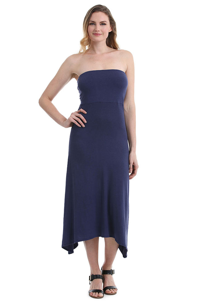 Navy Hatters Dress