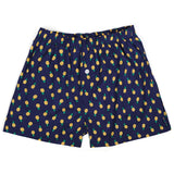 Pineapple Navy Men's Boxers