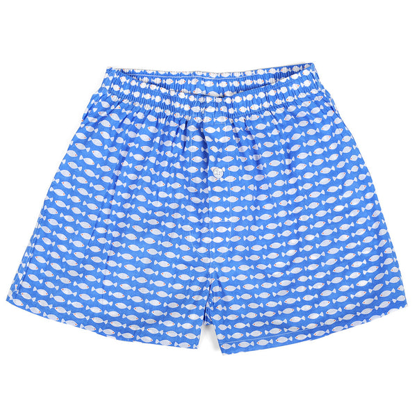 Goldfish Blue Men's Boxers