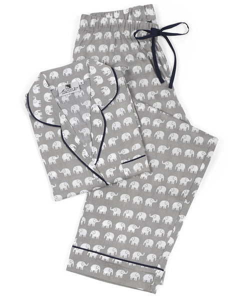 Elephant Grey Pajama Set