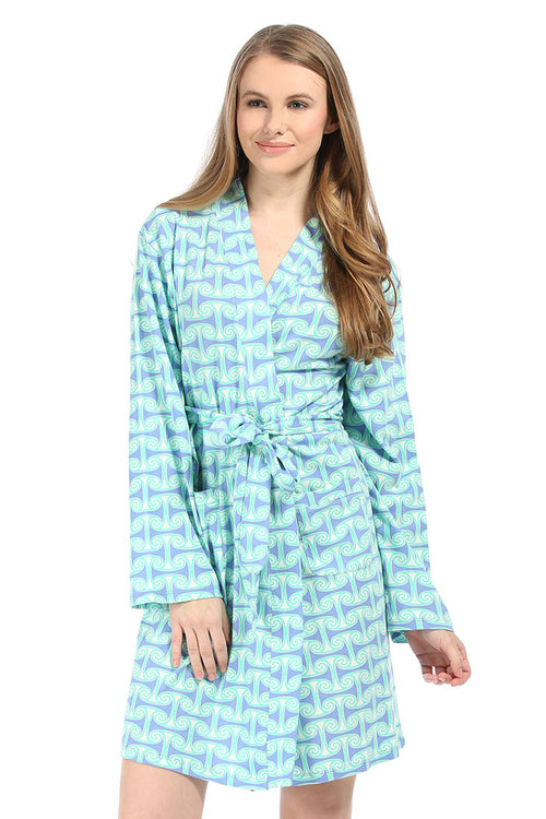 Alice Tranquil Jersey Knit Robe