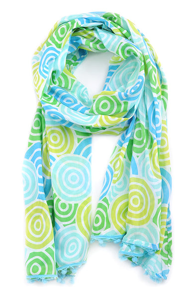 Jubilee Blue Scarf Sarong