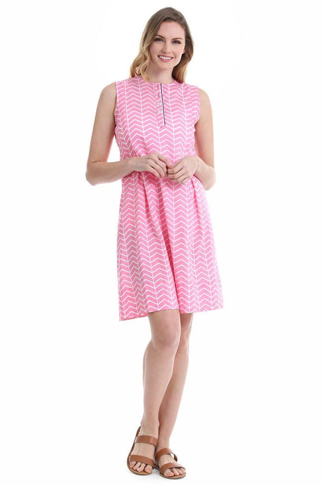 Vortex Pink Marabella Dress