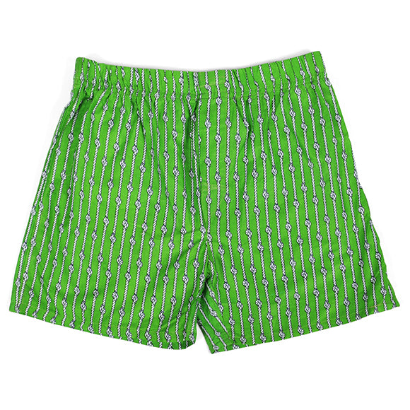 Nautical Knots Green Men's Boxers