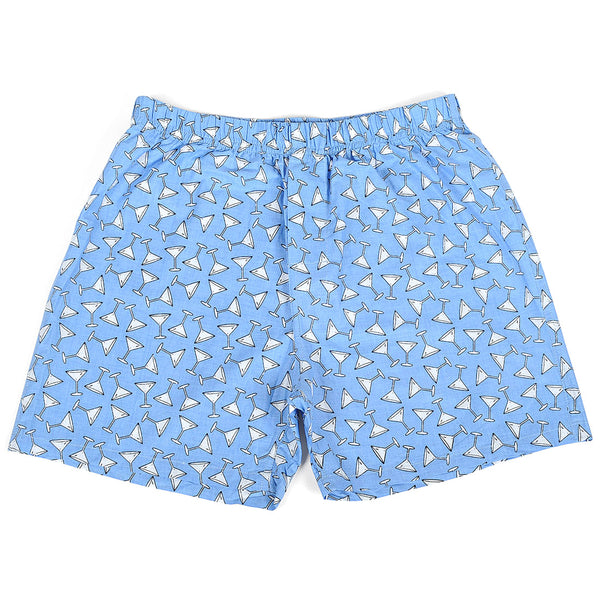 Martini Blue Men Boxers