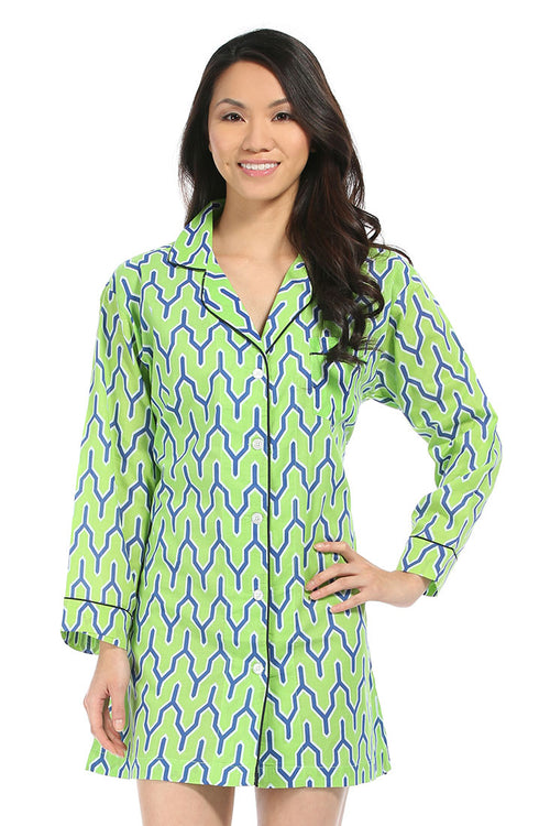 Parker Green Night Shirt