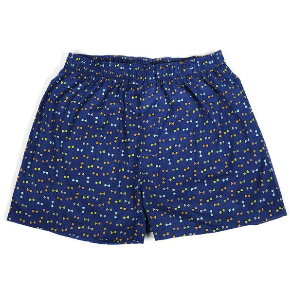 Bow Ties Blue Men's Boxers