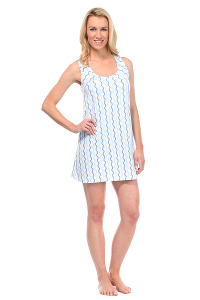 Sailor Blue Boat Dress