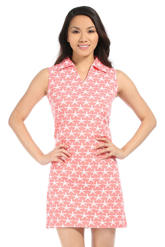 Starfish Coral Captiva Dress