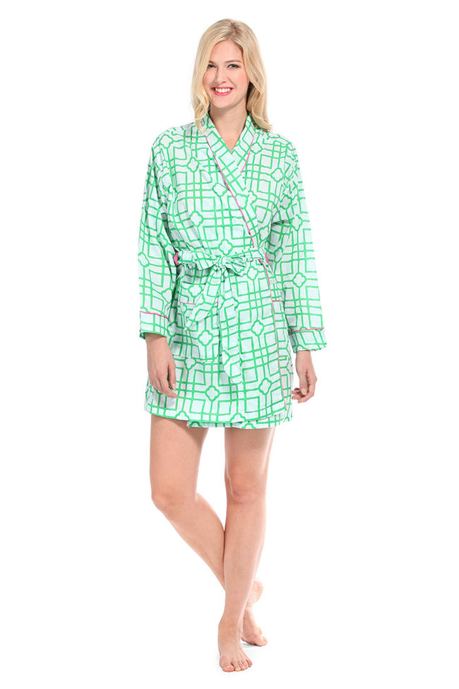 Isabelle Green Robe